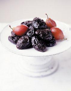 Armagnac ice cream with dried plums via @California Dried Plum Board
