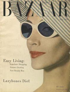 Ruth Neumann~Derujinsky By Gleb Derujinsky Harper's Bazaar July 1958