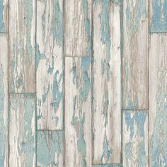 Peeling Planks Mineral wallpaper by Clarke & Clarke