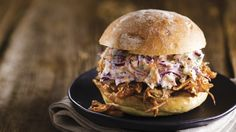 Slow-Cooker Pulled Pork Sandwiches. Luscious pork shoulder and tangy barbecue sauce can be part of your clean eats plan – if you follow our easy slow-cooker method, that is.