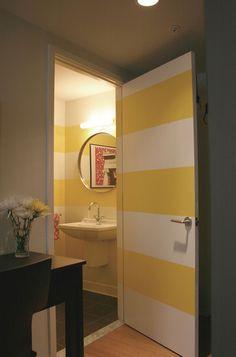 contemporary powder room by Emily Elizabeth Interior Design