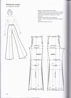 La tecnica dei modelli uomo donna 1 – Expolore the best and the special ideas about Designer clothing Techniques Couture, Sewing Techniques, Diy Clothing, Sewing Clothes, Clothes Crafts, Barbie Clothes, Dress Sewing Patterns, Clothing Patterns, Fashion Sewing