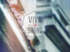 Viva La Swing cover designed by Vadim Sherbakov. Swing Cover, Splash Page, Logo Inspiration, Logo Branding, Cover Design, Behance, Design Ideas, Live, Cover Art