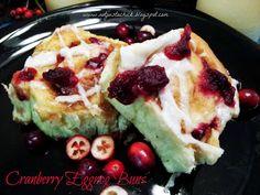 Cranberry Eggnog Cinnamon Buns