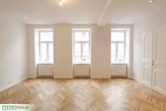 Helle Räume in modernisiertem #Altbau in #Wien