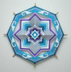 Ojos de Dios - Woven Mandala Art by Jay Mohler