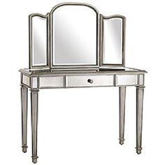 Hayworth Mirrored Furniture Collection   Hayworth Dresser ...