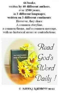 Read God's Word Daily!