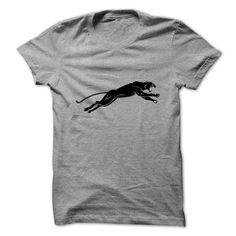 Panther jumping silhouettePanther jumping silhouettePanther, jumping, silhouette
