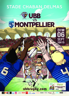 UBB - Montpellier, dimanche 6 septembre, 16h15