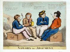 Sailors in Argument