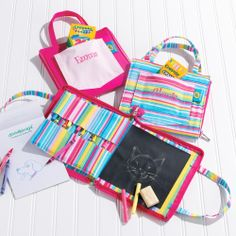 Personalized Doodlebag for Flowergirls | #exclusivelyweddings
