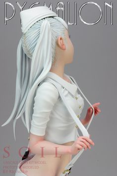 Cyberpunk Character, 3d Character, Character Design, Pretty Dolls, Beautiful Dolls, Pose Reference Photo, Cute Girl Dresses, Anime Figurines, 3d Girl