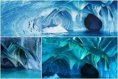 Cuevas de mármol, Lago General Carraera, Chile