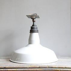 Large Vintage Industrial Barn or Shop Lamp