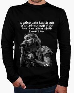 T-shirt PIERO PELU' su nero