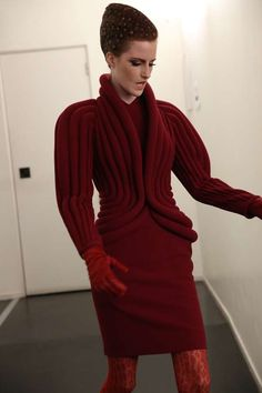 Airy History-Inspired Fashion - The Yiqing Yin Fall Couture 2013 Garments Remix Classic Shapes (GALLERY)