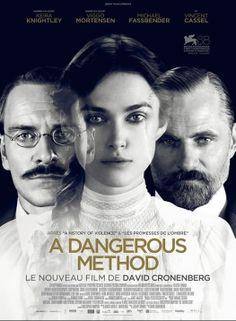 Um Método Perigoso - A Dangenous Method (2011). Um filme para ser visto várias vezes.