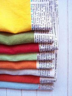 Linen Napkin tutorial