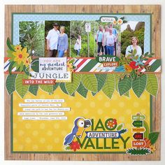 Last summer my family and I were able to visit the beautiful island of Maui in Hawaii. One of my favorite places we hiked while we were there was the Iao Valley. The Echo Park Paper Jungle Safari c…