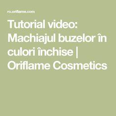 Tutorial video: Machiajul buzelor în culori închise | Oriflame Cosmetics