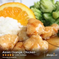 "Asian Orange Chicken | ""Unbelievable! Best orange chicken I have ever had including at restaurants! I followed the recipe exactly."""