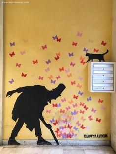 Street art by Kenny Random - Martina Sgorlon