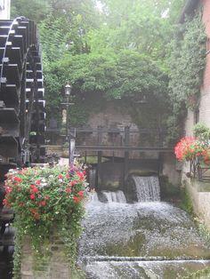 Watermolen bij de Jeker, Maastricht, Zuid-Limburg.