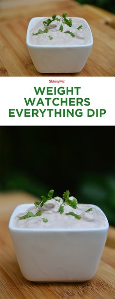This Weight Watchers Everything Dip is only 5 Ingredients and perfectly pairs with your favorite whole grain crackers, vegetables, or even wheat pita triangles. Try it at home or your next get together!