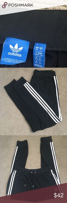 Adidas Track Jogger Pants women's jogger pant, worn twice, very comfortable, really good quality, price is not firm! adidas Pants Track Pants & Joggers