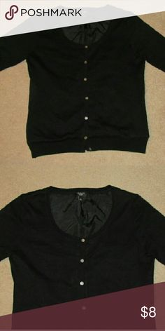 TALBOTS LADIES BLACK BUTTON DOWN TOP SZ M In great condition. TALBOTS  Tops Button Down Shirts