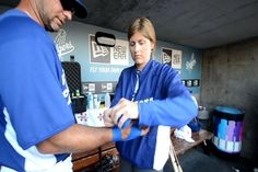 Who I'm tring to be like | Sue Falsone: LA Dodgers' Head Athletic Trainer | Women in Coaching