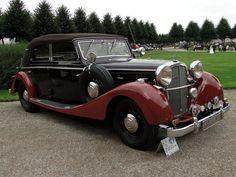 MAYBACH SW38 Spohn Cabriolet 1937 Classic Gala de Schwetzingen 2009 2