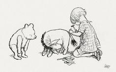 original winnie the pooh drawings | トラックバック - http://d.hatena.ne.jp/art-study/20081214/p2