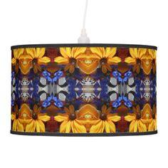 Halse Ceiling Lamp - flowers floral flower design unique style