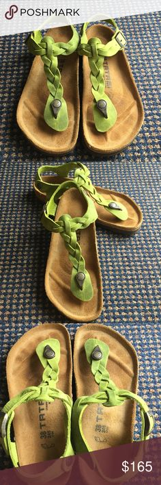 Excellent Birkenstock Tatami Green 38 Excellent condition like new by Birkenstock. Comfy and support your feet. Birkenstock Shoes Sandals