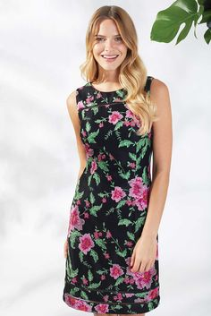 Elisa Floral Embroidery Dress Floral Embroidery Dress, Spring Summer 2018, Casual, Flowers, Dresses, Fashion, Party Dresses, Vestidos, Moda