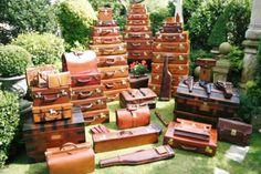 Nothing beats old luggage