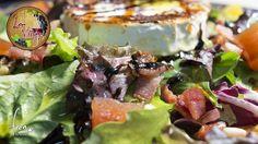 Ensalada con queso de rulo de cabra y crujiente de bacon Déjate llevar por la inmensidad de su sabor... ;-)