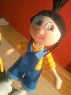 Agnes fun foam doll (from Despicable Me) w/patterns