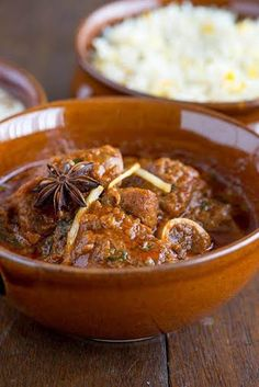 Rogan Josh Annayu -Infused With Ratan Jot. A fantastic rogan josh recipe from my friend Madhup Sinha, head chef of Annayu. Veg Recipes, Spicy Recipes, Curry Recipes, Other Recipes, Slow Cooker Recipes, Indian Food Recipes, Cooking Recipes, Veg Dishes, Curry Dishes