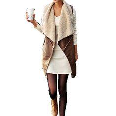 KingSo Womens Faux Fur Vest Cream Waistcoat Long Gilet Jacket Outerwear King so http://www.amazon.com/dp/B00ORLSTDS/ref=cm_sw_r_pi_dp_Zy-7ub0BGV9F4