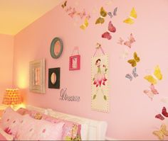 Teagan wants her and Tatum's room to be pink, purple and yellow with butterflies.