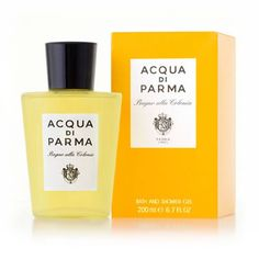 Acqua Di Parma Colonia Bath and Shower Gel 200ml Acqua Di Parma Colonia Bath and Shower Gel is a gentle cleanser for both hair and body. Leaving your skin beautifully fragranced with the fresh notes of the original Acqua di Parma Cologne. A combinat http://www.MightGet.com/april-2017-1/acqua-di-parma-colonia-bath-and-shower-gel-200ml.asp