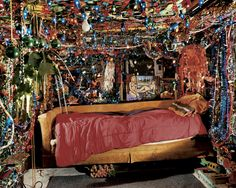 Herman's bed, Kenner, Louisiana 2002