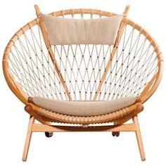 1980s ,u0027Circleu0027 Chair By Hans J. Wegner For PP Möbler