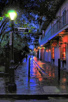Green Street Lamp, Pirates Alley, New Orleans. Print By Ellis C Baldwin New Orleans Art, New Orleans Travel, New Orleans Louisiana, New Orleans Voodoo, Louisiana Art, Oh The Places You'll Go, Places To Travel, Places To Visit, Green Street