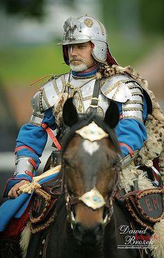 Polish hussar. 16th-17th century.