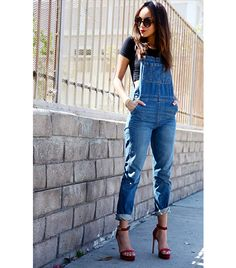 Street Style; I've always wanted a pair of overalls