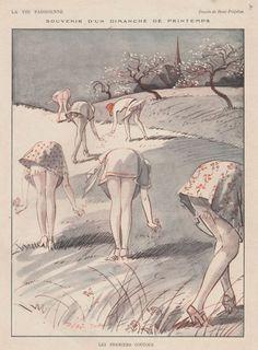 a cheeky little illustration via La Vie Parisienne